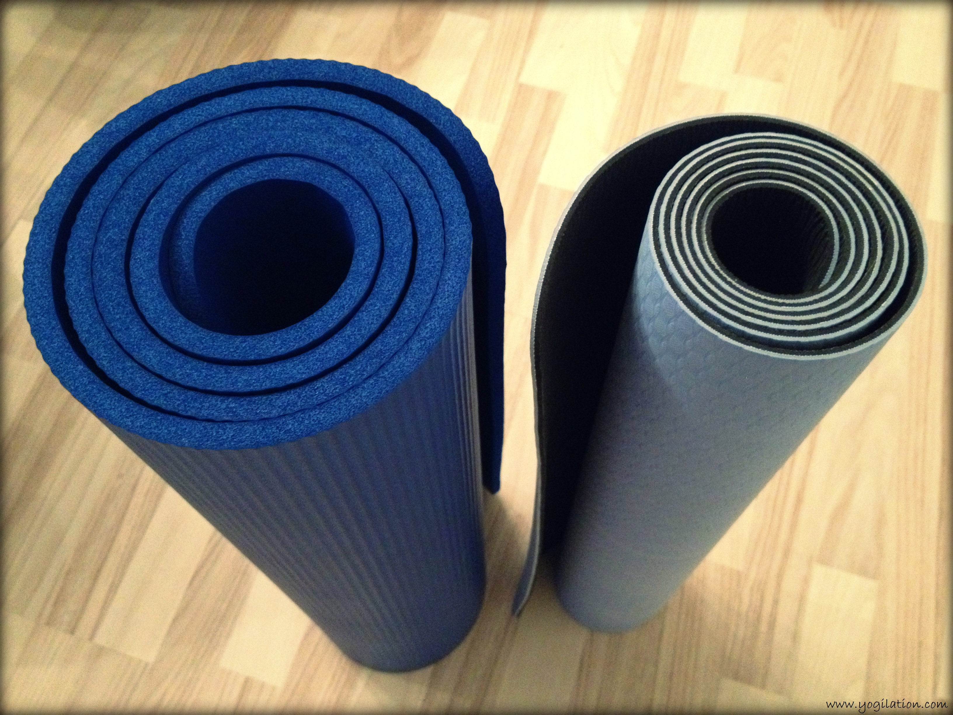 thick pilates x slip yoga products extra non pad fitness mats strap mat exercise w otenmart