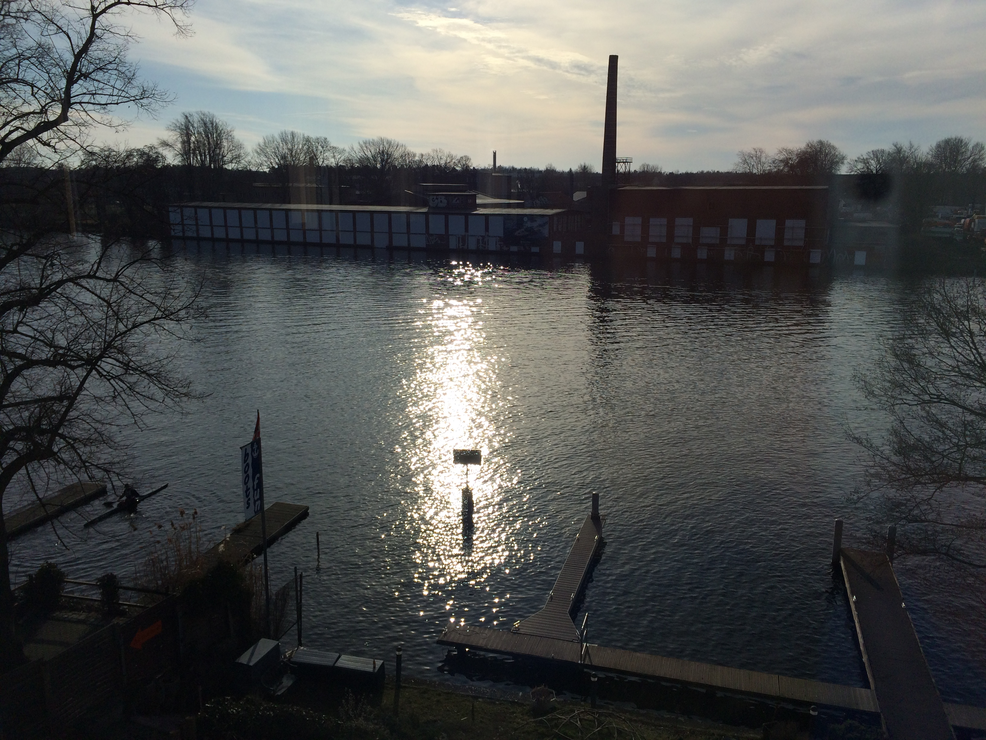 Essentis is directly by the Spree river
